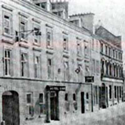 Charlemont Arms Hotel Old Photograph