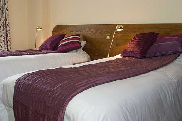 Charlemont Arms Hotel Twin Room