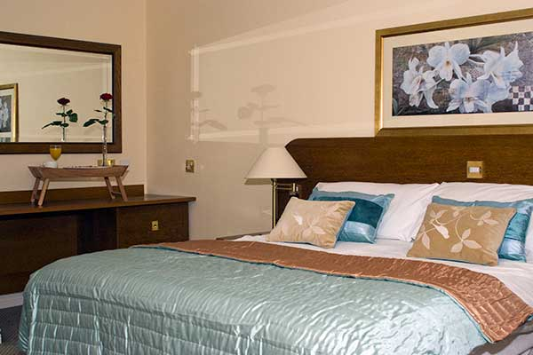 Deluxe Double Room at the Charlemont Arms Hotel